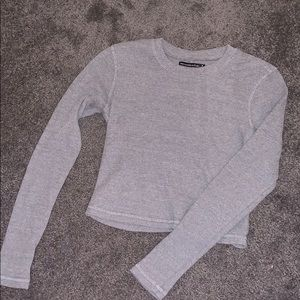 gray thermal long sleeve